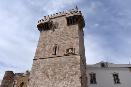 alentejo: Tower (Tres Coroas) ,Three Crowns, Estremoz, Alentejo region, Portugal
