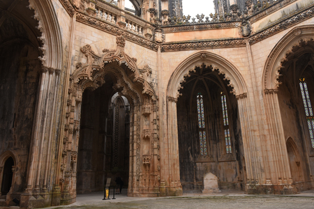 Unfinished Chapels at Monastery of Santa Maria da Vitoria, Batalha Monastery, Centro region, Portugal