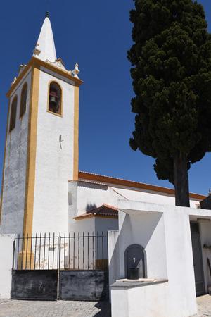alentejo: Church of Crato, Alentejo region, Portugal