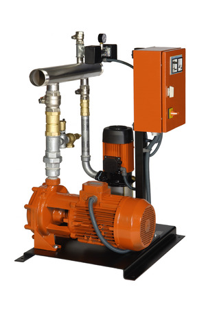 PUMPER: Fire protection with electric motor and gasoline,