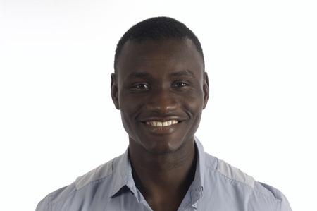 Retrato de un hombre negro Foto de archivo - 62441301