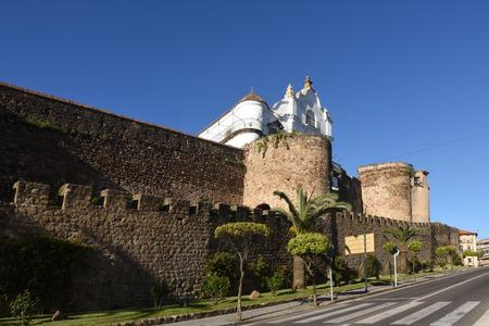 extremadura: City walls. Plasencia. Cáceres province. Extremadura. Spain