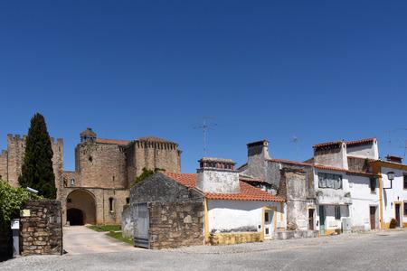 rosa: Monastery of Flor da Rosa, Crato, Alentejo region, Portugal