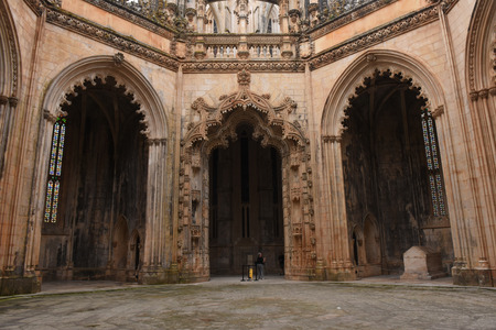 uncompleted: Unfinished Chapels at Monastery of Santa Maria da Vitoria, Batalha Monastery, Centro region, Portugal