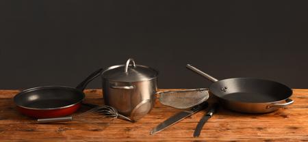 Cooking utenseils Stock Photo