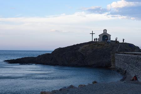 hermitage: Hermitage of  Collioure, Roussillon, Oriental Pyrinees,