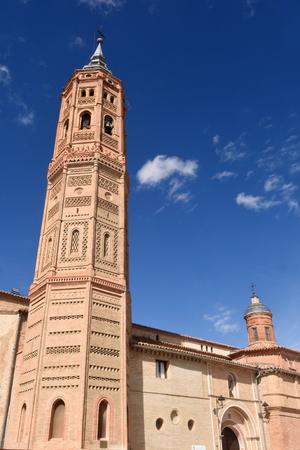 zaragoza: San Andrew church (Moorish style). Calatayud, Zaragoza, Aragon, Spain, Europe