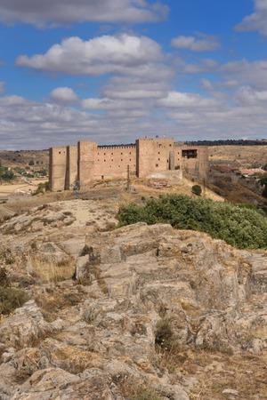 guadalajara: Castle of Siguenza, Guadalajara province, Castilla-Leon, Spain