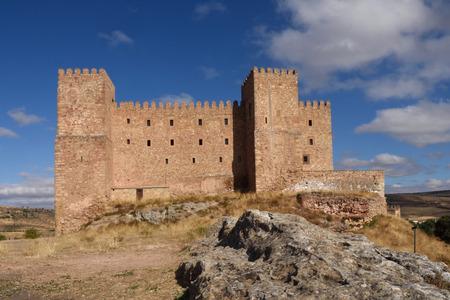guadalajara: Castle of Siguenza, Guadalajara province, Catilla-Leon, Spain Editorial
