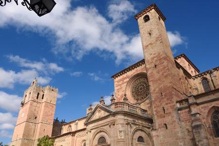 mancha: Cathedral of Siguenza, Guadalajara province, Castilla-La Mancha, Spain