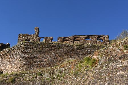 Detail of walls ,Castelo de Vide, Alentejo region, Portugal