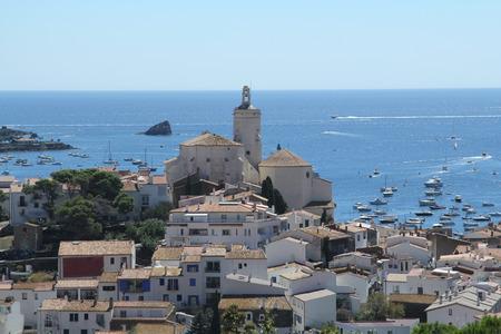 Village of Cadaques in Costa Brava,Girona province,Spain