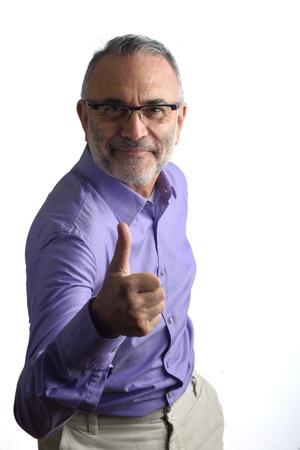 man with ok sign