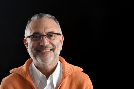 Portret van een man Stockfoto