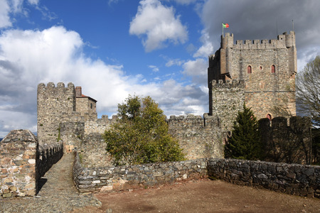os: Castle of Braganca, Tras os Montes,Portugal