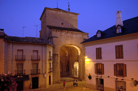 Kathedraal van Jaca, Huesca, Aragon, Spanje Stockfoto