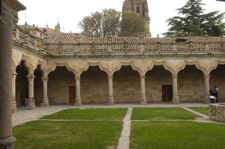 Patio de las Escuelas Menores, Salamanca, Castilla y Leon, Spain
