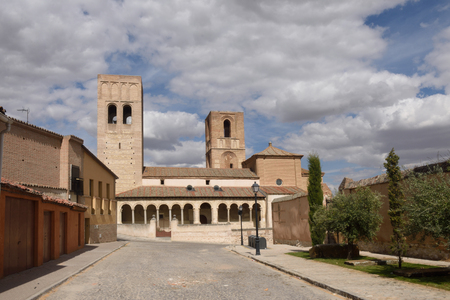 San Martin church Arevalo, Avila province, Spain