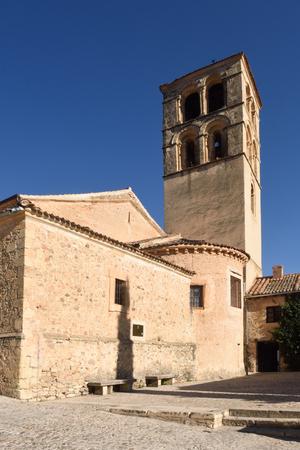 Romanesque church of San Juan Bautista, Pedraza, Segovia province, Castilla-Leon, Spain