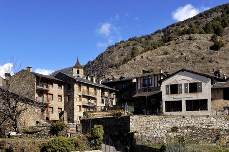 village of Ordino, Andorra