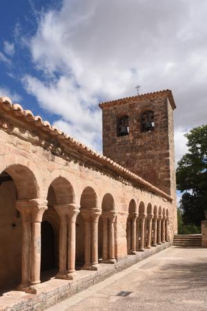 Romanesque church of San Salvador of Carabias, Siguenza, Guadalajara province, Castilla-La Mancha, Spain