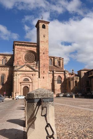 guadalajara: Cathedral ,Siguenza, Guadalajara province, Castilla-La Mancha, Spain Stock Photo