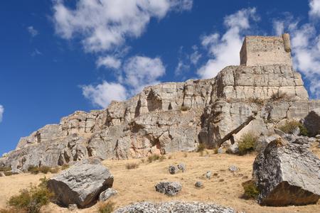 Castle,(Route of Cid and  Don Quixote), Atienza,Guadalajara, province, Castilla-La Mancha, Spain,