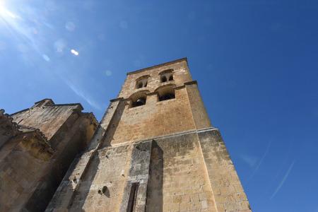 El Salvador church, Sepulveda,Segovia province, Spain