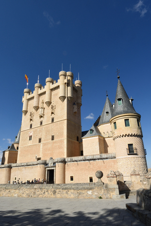 alcazar: Alcazar de Segovia, Castilla-Leon, Spain