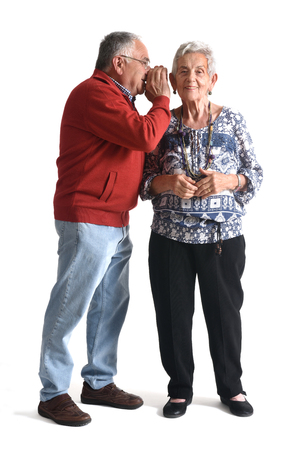 75 80: Senior couple secret