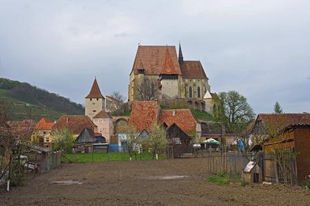 biertan: Church and Village of Biertan in Transylvania, Romania