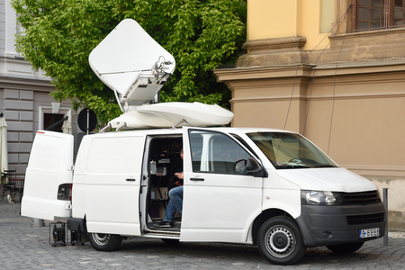 Tv movil van