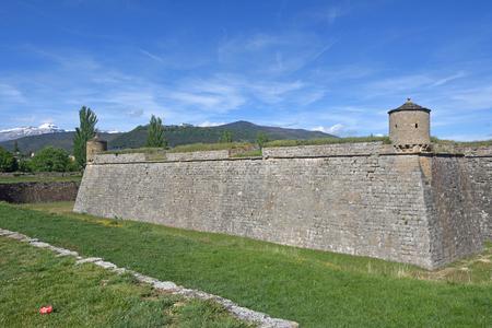 Citadel Jaca, Spain Stock Photo