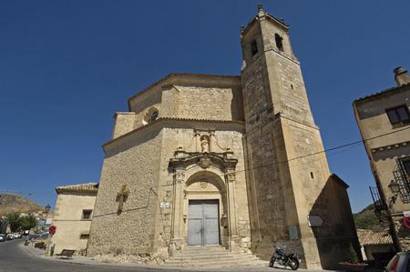 San Pedro church in Cuenca, Castilla La Mancha, Spain