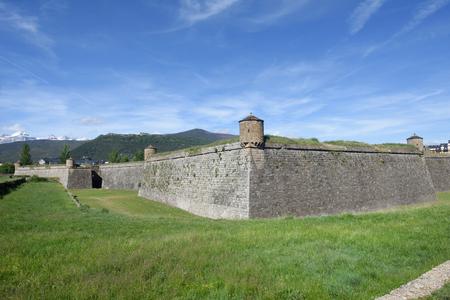 Citadel of Jaca in Huesca province, Aragon, Spain