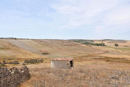 Old dovecote in Montealegre de Campos, Tierra de Campos region, Valladolid province, Castilla y Leon, Spain