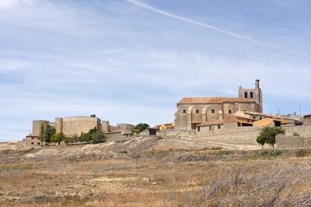 village of  Montealegre de Campos, Tierra de Campos region, Valladolid province, Castilla y Leon, Spain