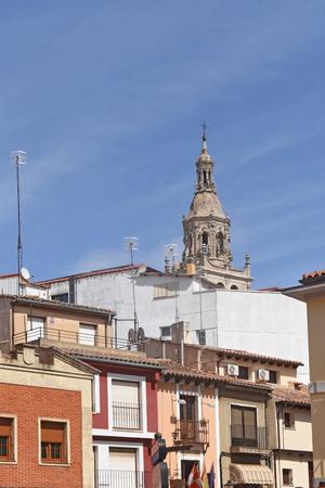 village of Medina de Rioseco, Valladolid province, Castilla y Leon, Spain Stock Photo
