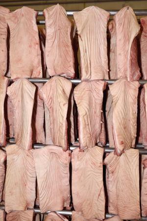 textura: industria della carne di maiale (parti sono Bacon)