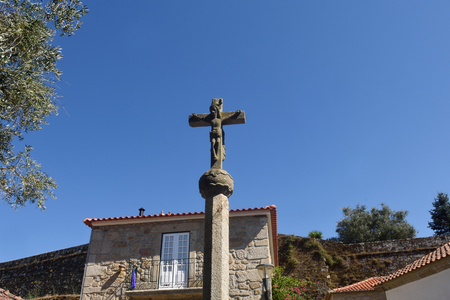 Old Cross of  Vila Nova de Cerveira, Alto Minho, Portugal