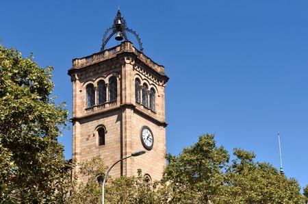 university of Barcelona, Spain Stok Fotoğraf