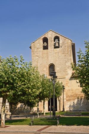 Romanesque church of Santa Maria, Carrion de los Condes, Palencia province, Spain