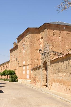 Monastery of Manasterio de la Vega, Tierra de Campos, Valladolid province, Castilla and Leon, Spain