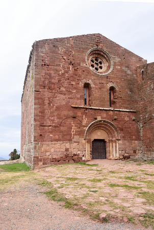 Monastery of Escolnarbou, Tarragona province, Catalonia, Spain
