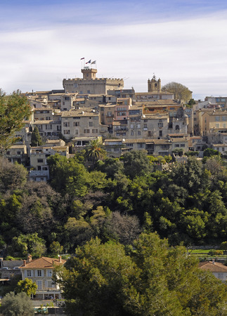 Medieval village of Cagnes Sur Mer, French Riviera, France