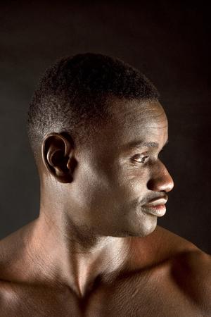 portrait of african man Zdjęcie Seryjne