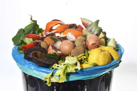 organic recycling container Stock Photo