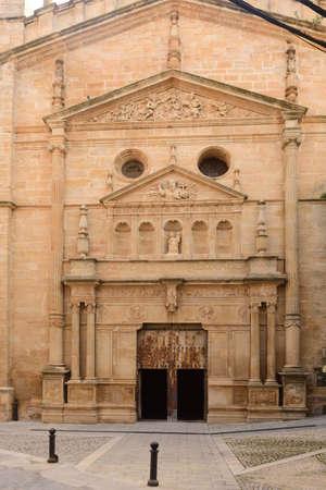 La Asuncion church of Cretas, Teruel province, Aragon, Spain