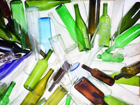 recycling glass Imagens