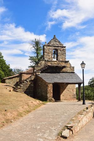 La Asuncion church of Flechas, La Culebra mountain, Aliste, Zamora province, Castile and Leon, Spain